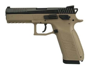 Pistolet CZ P-09 T FDE k. 9mm L man+dec